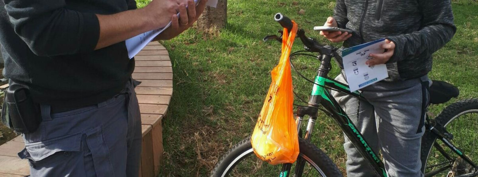 קריית ביאליק-פקחי הרשות יאכפו את נושא האופניים החשמליים