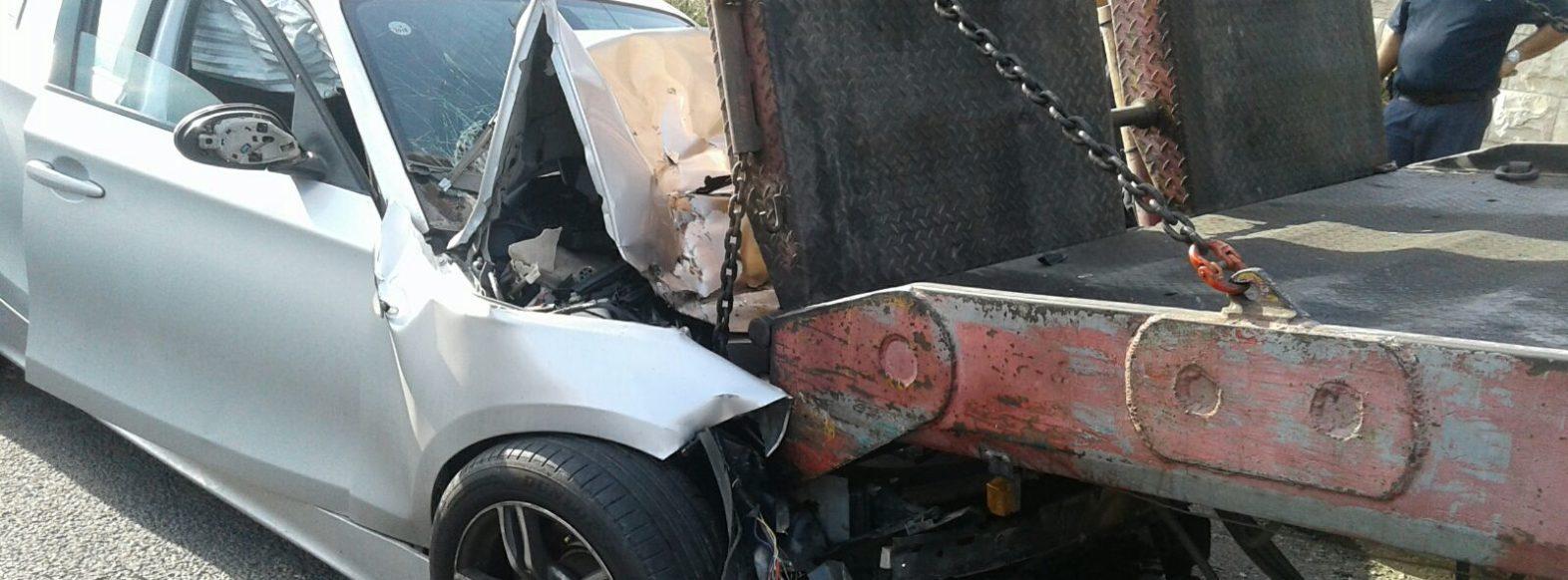 תאונת דרכים קשה-בן 20 התנגש במשאית חונה ומצבו קשה מאוד