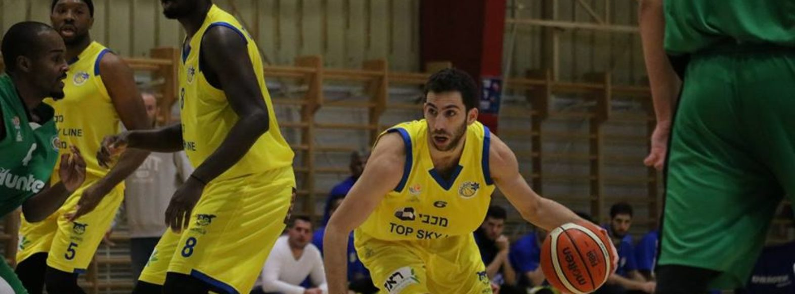 ניצחון גדול למכבי מוצקין בכדורסל על הפועל חיפה 85-98