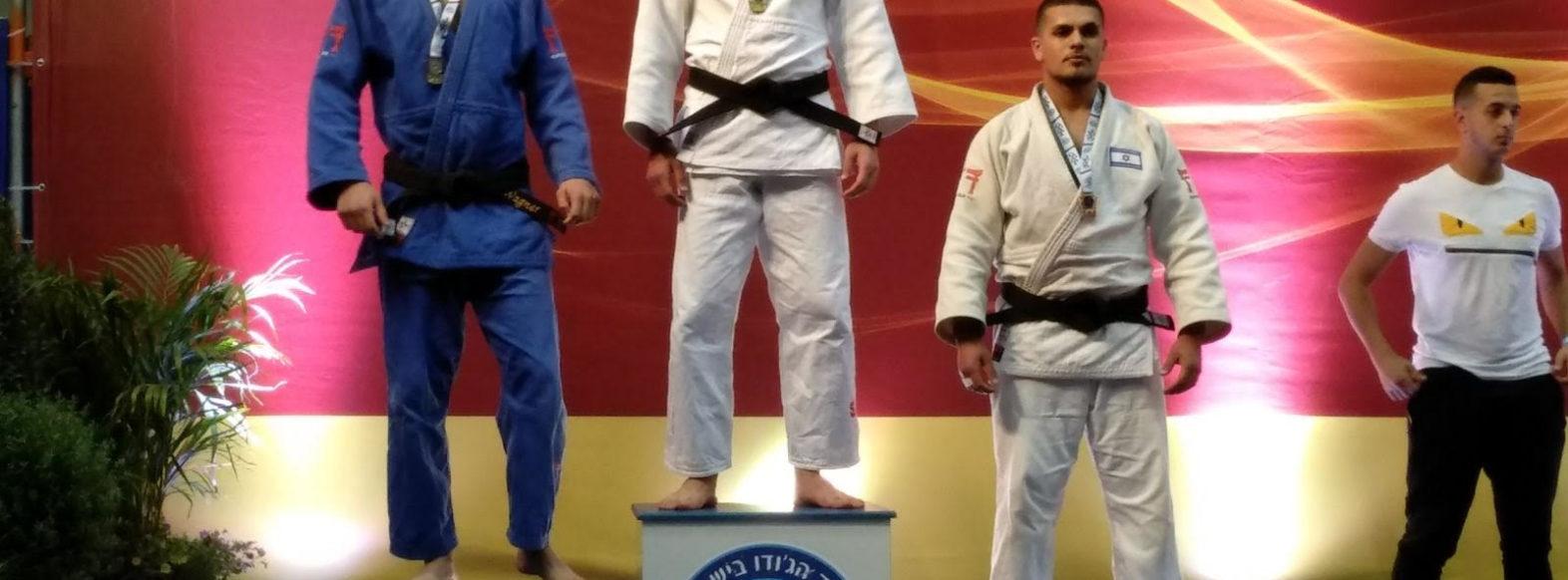 מקום ראשון לספורטאים מקרית אתא באליפות ישראל בג'ודו