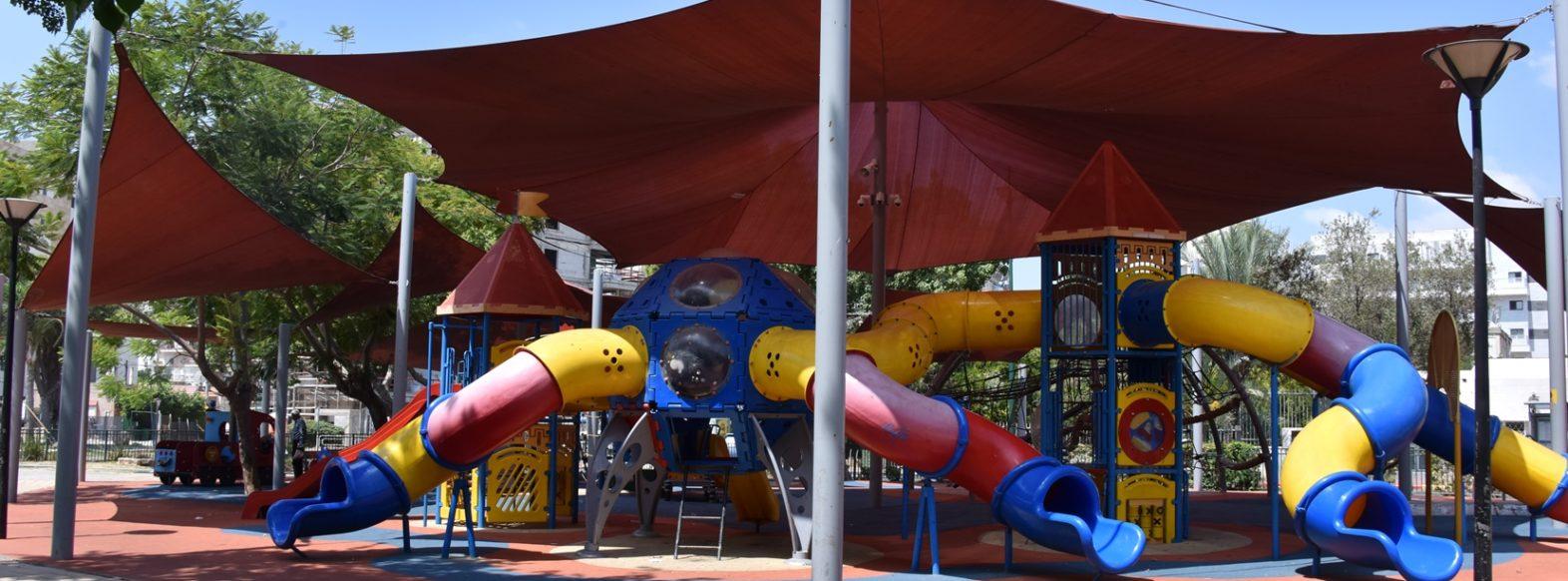 עיריית קרית אתא מקימה גני משחקים חדשים ברחובות חנקין , פיקאסו ואסף שמחוני