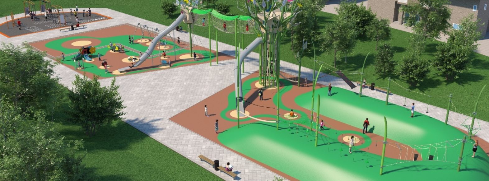 עיריית קרית אתא מקימה גני משחקים חדשים ברחובות חנקין ופיקאסו