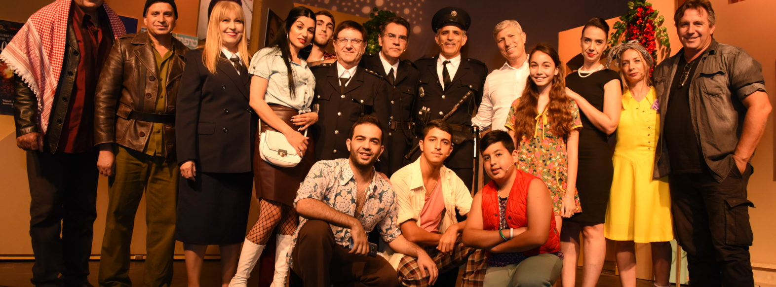 הפקת תיאטרון קהילתית בהשתתפות שחקנים תושבי העיר