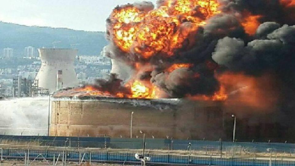 """טרם התקבלו מסקנות השריפה שפרצה בבז""""ן לפני כשלושה חודשים"""