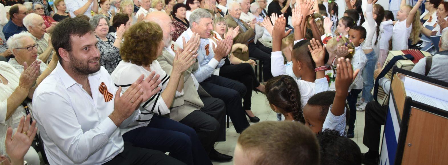 ק. אתא-טקס לציון 72 שנים לניצחון על גרמניה הנאצית