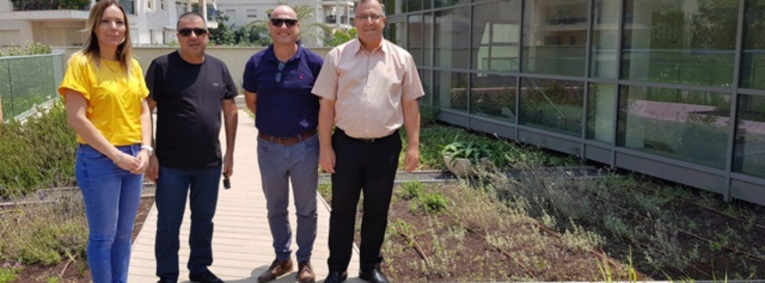"""אלי דוקורסקי אירח את יו""""ר ועדת תכנון ובניה של מחוז חיפה, איתמר בן דוד"""