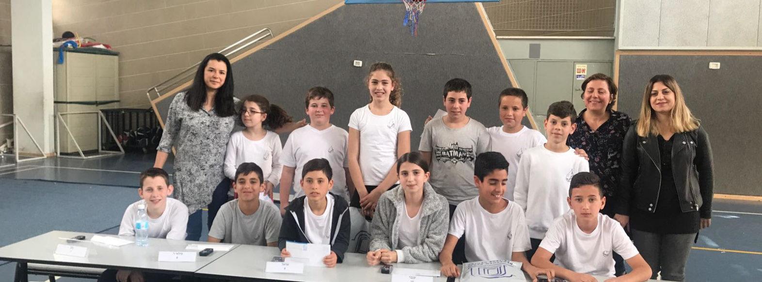 """תלמידי ביה""""ס """"ירושלים"""" ו""""גבעת טל"""" ייצגו את העיר בחידון בגין הארצי"""