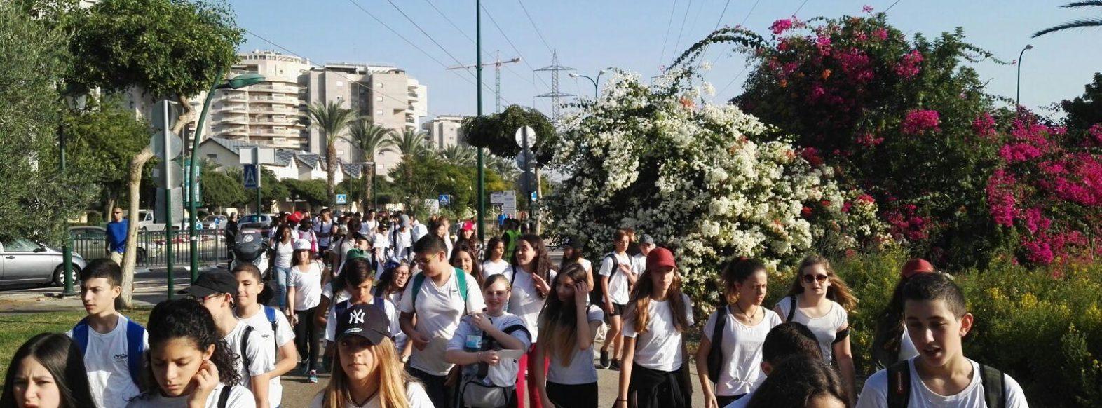 יום ההליכה הבינלאומי צוין בקריית ביאליק בצעדת המונים