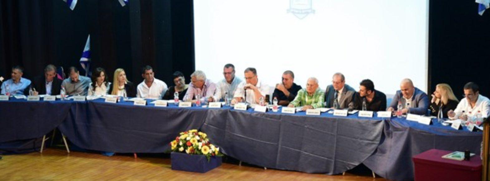 קריית ביאליק: ישיבת מועצת העיר החדשה התכנסה לראשונה
