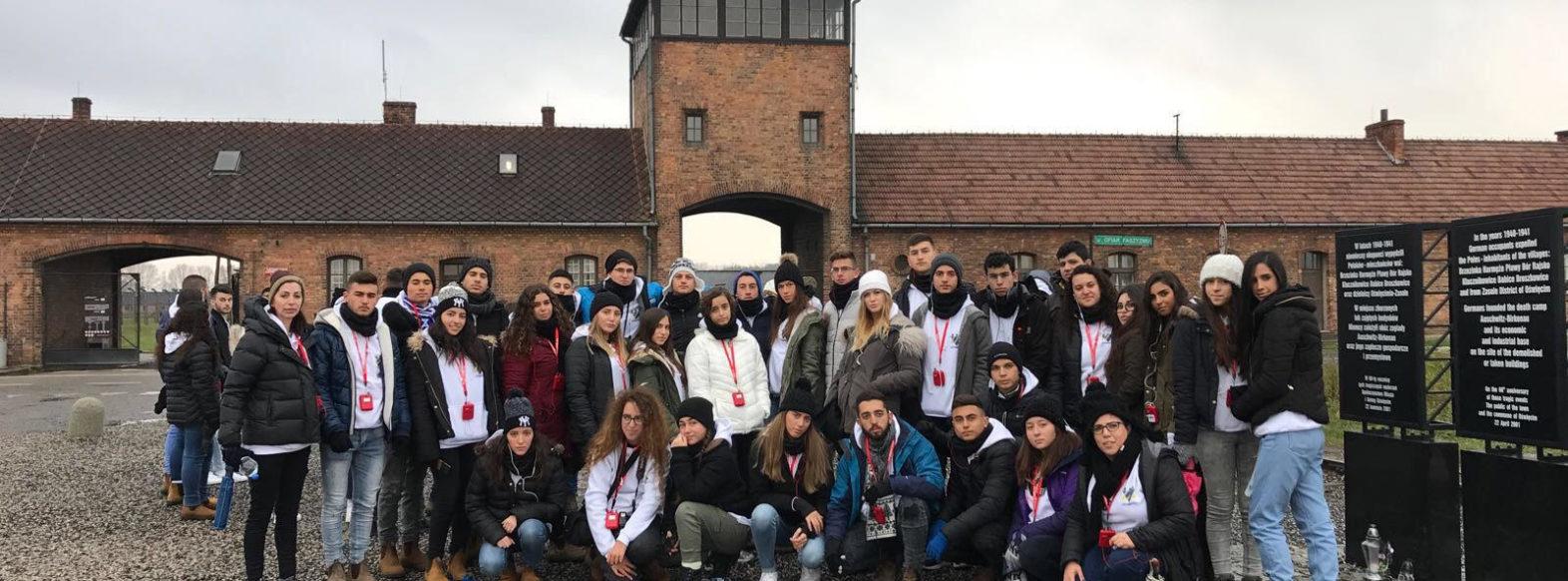 משלחת של תלמידי רוגוזין יצאה למסע השנתי בעקבות השואה בפולין