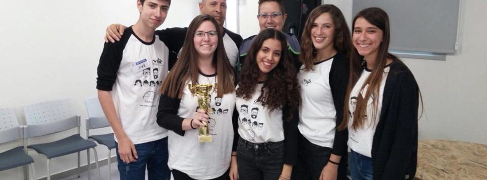 תלמידי אורט קריית ביאליק זכו במקום ראשון בתחרות גמר האקתון 70 לחדשנות