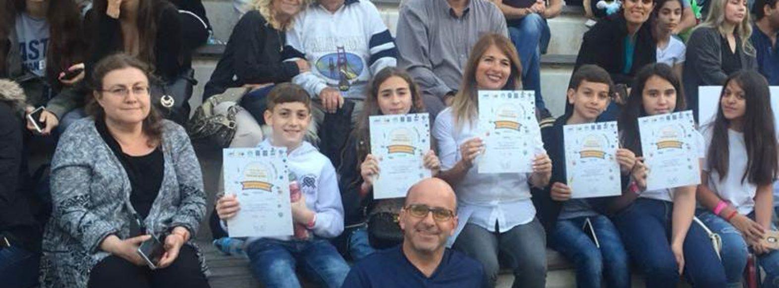 בית ספר קדימה מקריית ביאליק זכה בתחרות החקר המחוזית