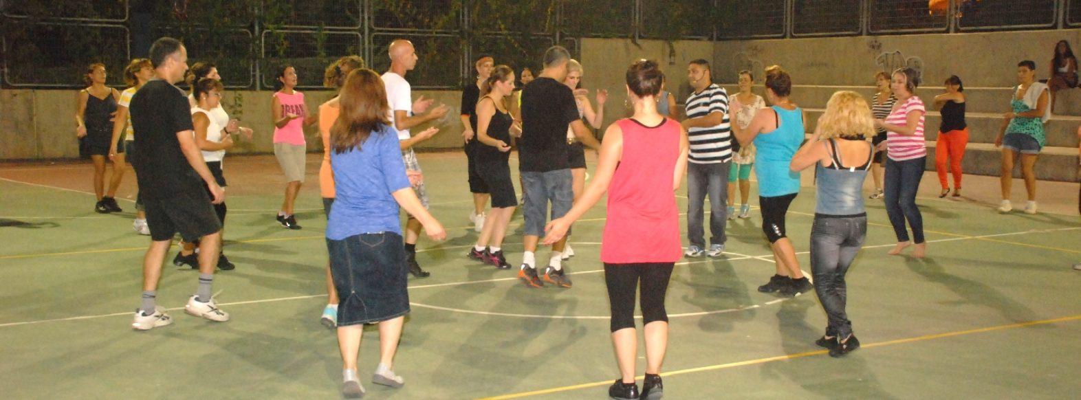 ריקודי עם בפארק הספורט
