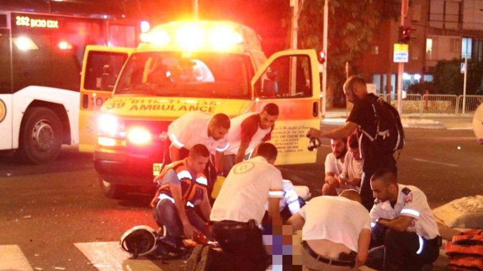 תאונה קשה בצומת הקריון,נער נפצע קשה בהתנגשות אופנוע ורכב