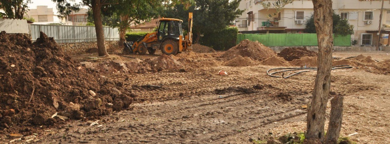 עיריית קרית אתא  מקימה גן משחקים חדש ברחוב אברמסקי