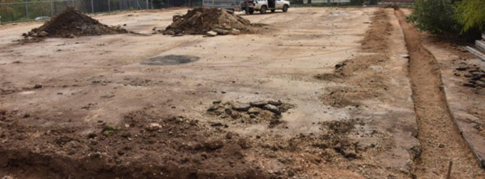 עיריית קרית אתא משפצת את פארק אברהם ברחוב בן עמי