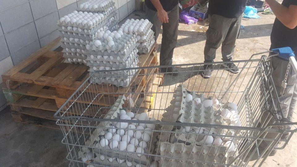 נמנעה הפצת אלפי ביצים ללא פיקוח וטרינרי שנתפסו בשוק העירוני בקרית אתא