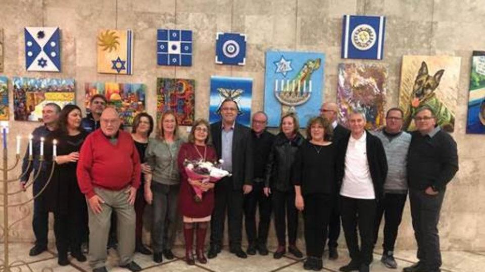 תערוכת אומנים עולים התקיימה זו השנה ה-15 בקריית ביאליק