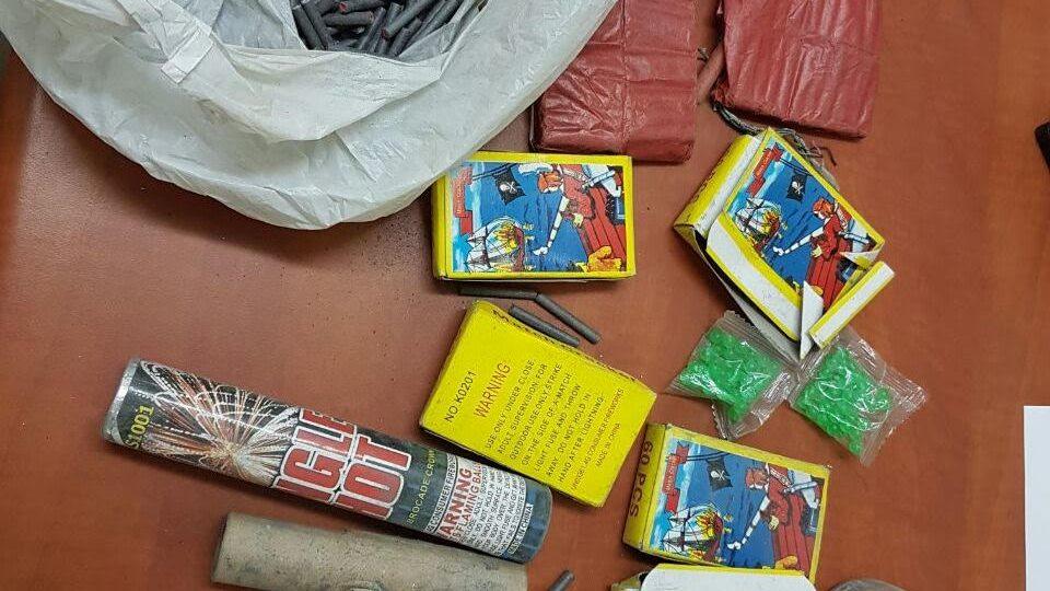 ק. אתא-מבצע אכיפה לאיסור השימוש בנפצים בקרב בני נוער בעיר