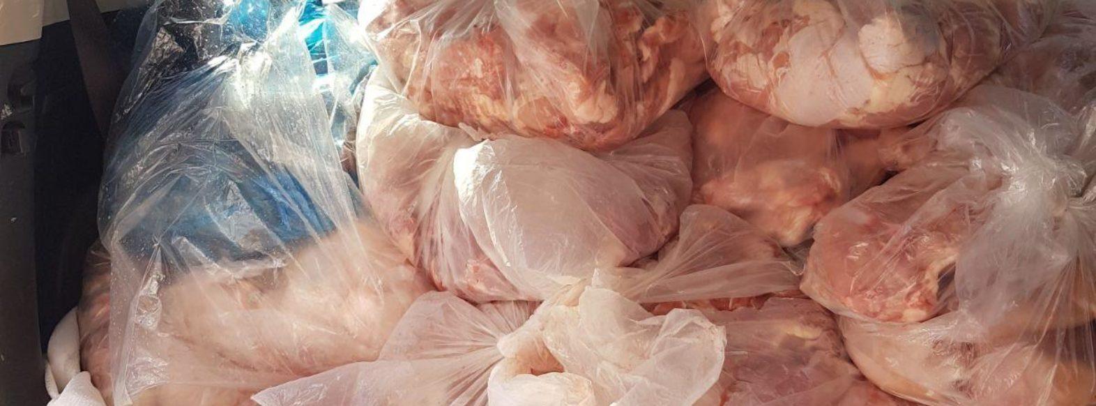 """מעל 500 ק""""ג בשר לא ראוי למאכל הוחרם באטליז בקריית ביאליק"""