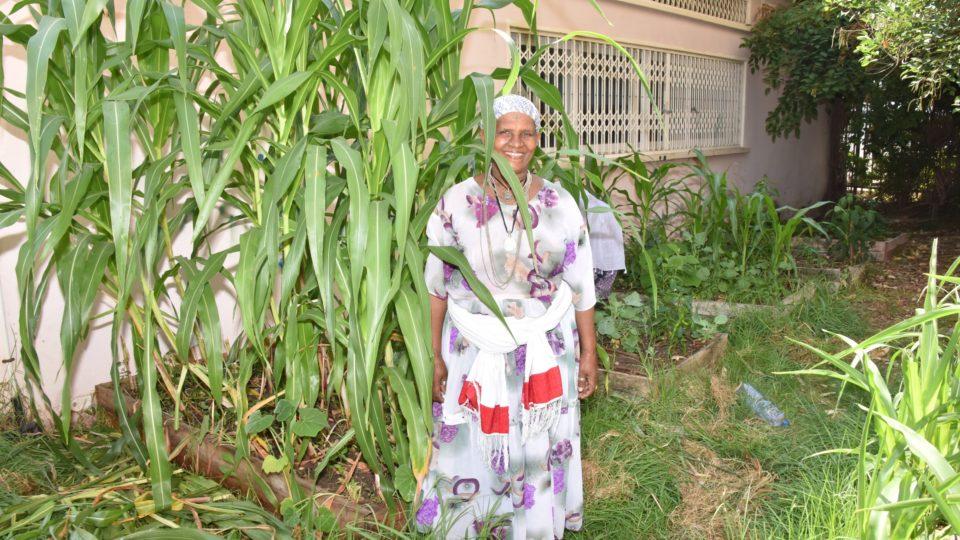 גינה קהילתית לבני העדה האתיופית בשכונת נווה חן