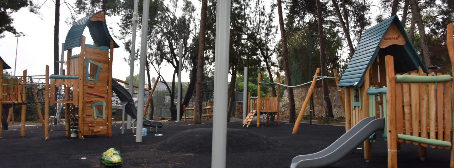 בעקבות עלייה בתחלואה בקורונה פארקים ומגרשי משחקים נסגרו במוצקין