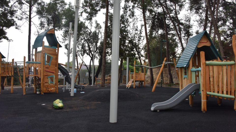 קריית אתא: גן משחקים חדש ברחוב חנקין