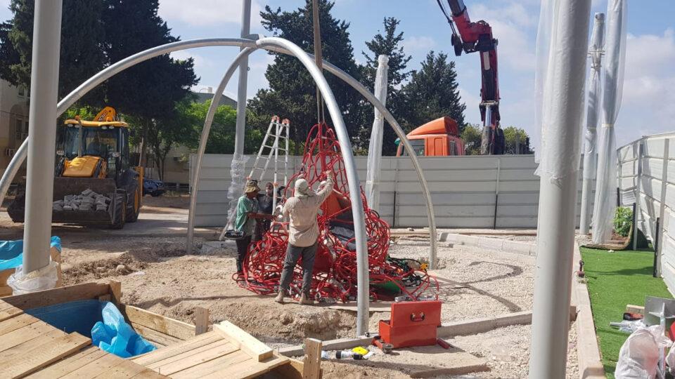עיריית קרית אתא נערכת להקמת 13 גני משחקים ציבוריים חדשים