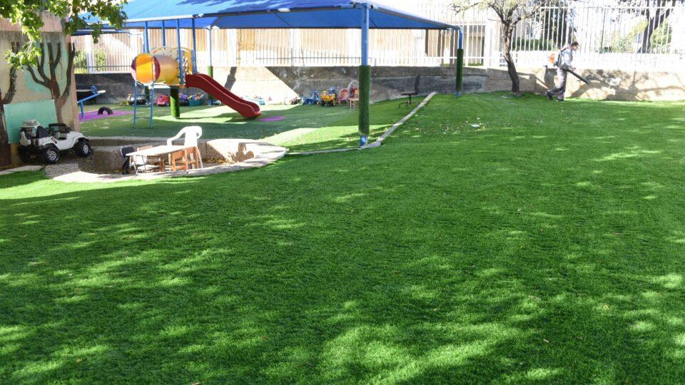 קריית אתא: כל גני הילדים בעיר עם דשא סינטטי
