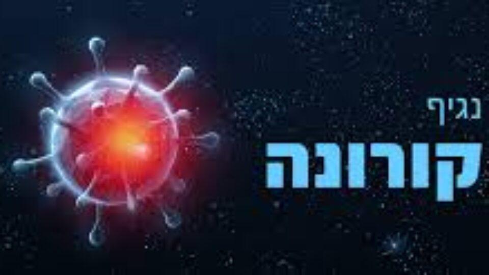 נתוני הקורונה הסביבתיים בקריות וחיפה נכון ליום א 18.7