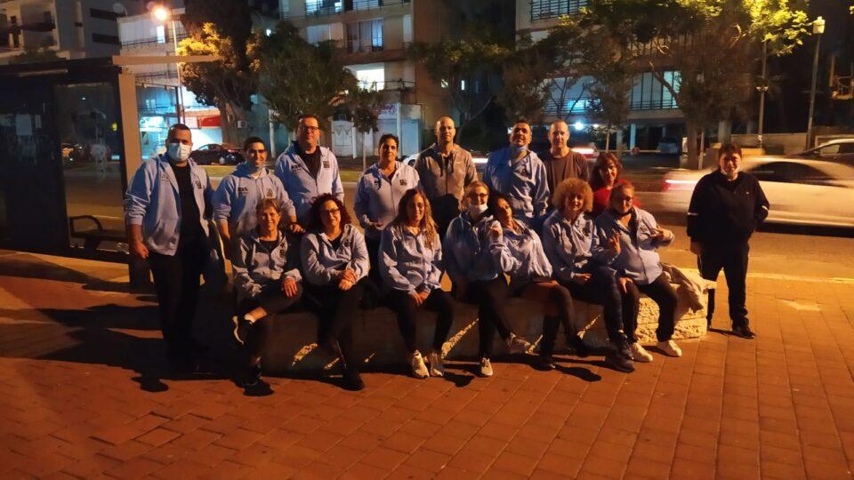 סיירת הורים מתנדבים פועלת בעיר ומשלבת בין פיקוח לאורח חיים בריא