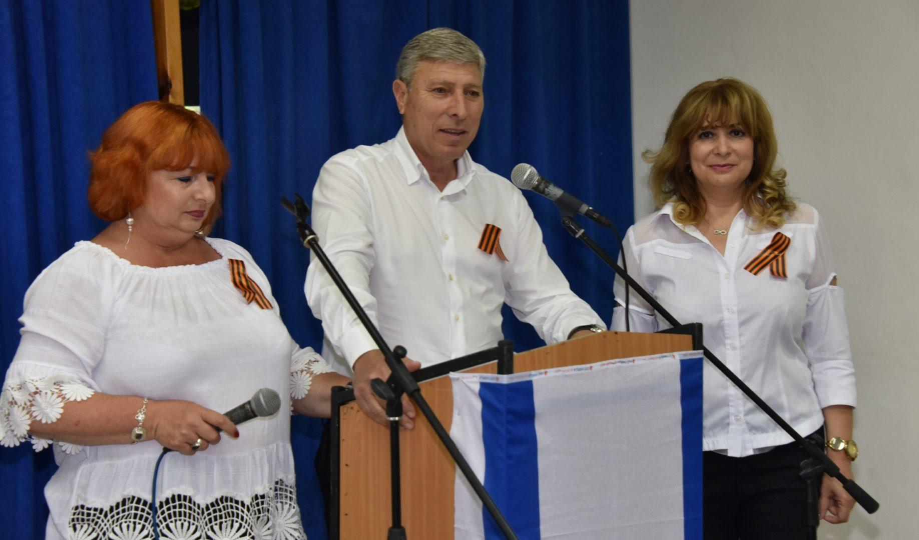 ראש העיר יעקב פרץ בטקס הויטרנים