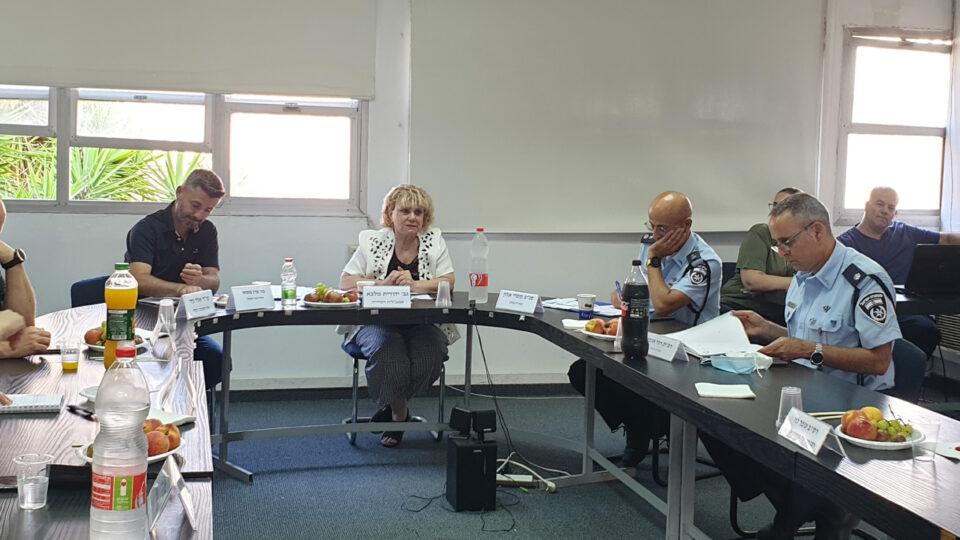 ועדת האכיפה בקרית אתא התכנסה השבוע לדון בתוכניות העבודה ובהיערכות לתיגבור האכיפה בחופשת הקיץ