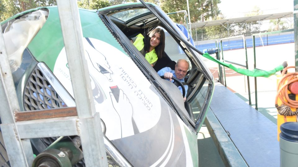 יום שיא בנושא בטיחות בדרכים בחטיבה העליונה רוגוזין