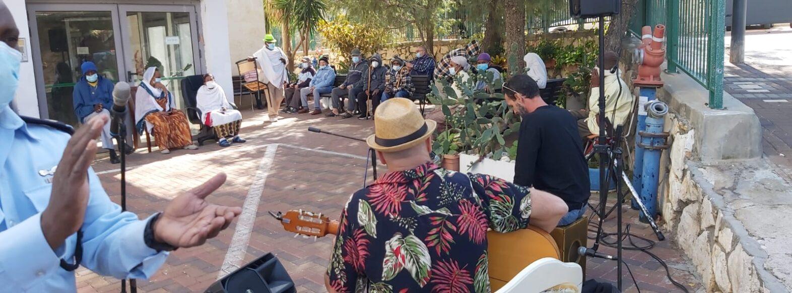 מחלקת הקליטה בעיריית קרית אתא ציינה את חג הסיגד של העדה האתיופית