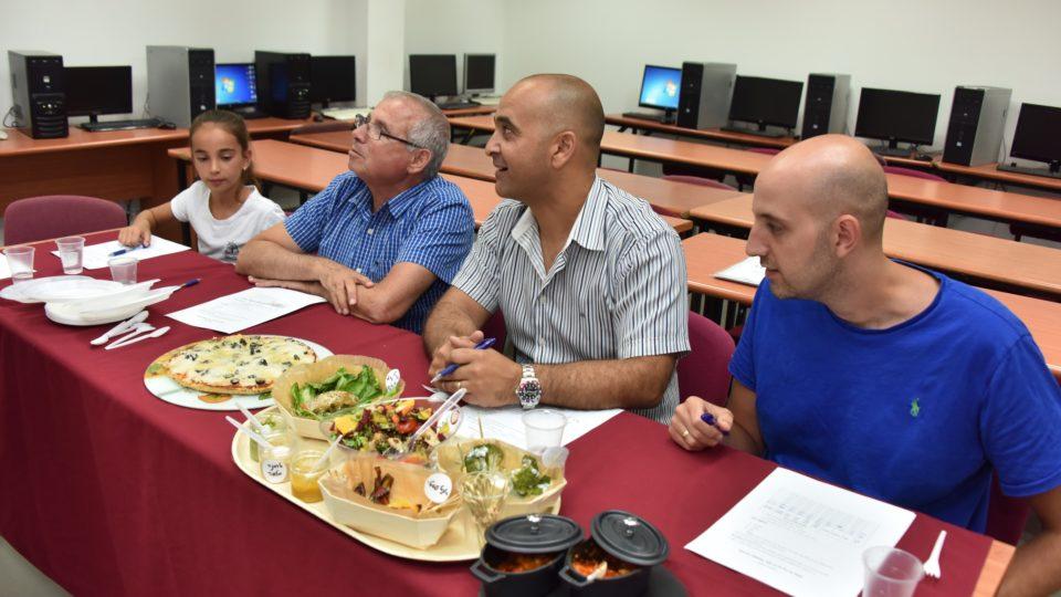תחרות בישול לתלמידי בתי הספר לעידוד אורח חיים בריא
