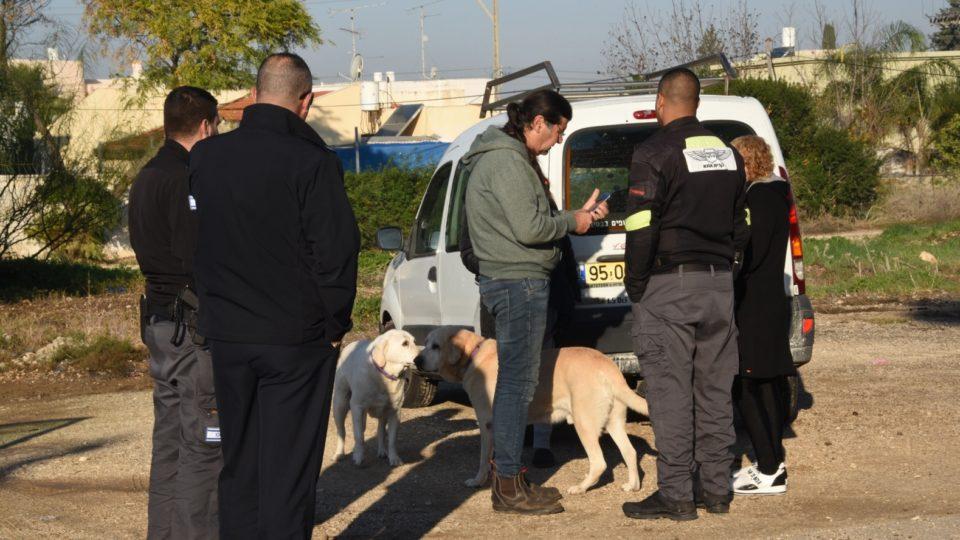 מבצע אכיפת כלבים משוטטים בקריית אתא