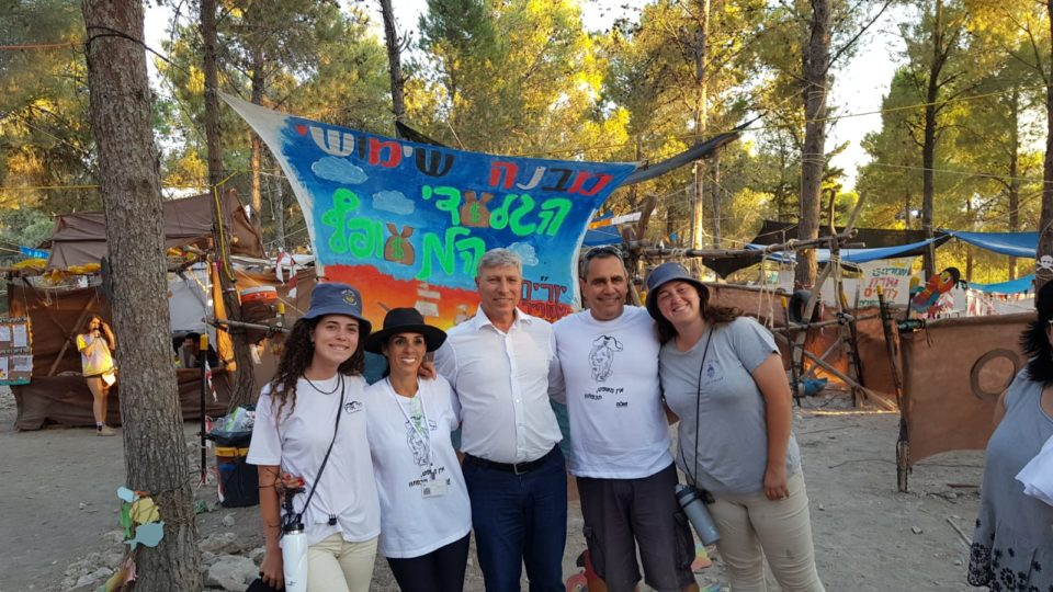 קרית אתא-ראש העיר הפתיע את חניכי בצופים במחנה הקיץ