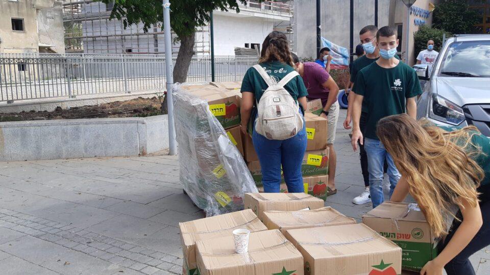 פרויקטים קהילתיים למען אוכלוסיות נזקקות בשיתוף מחלקת הרווחה ומרכז הנוער והצעירים בקרית אתא