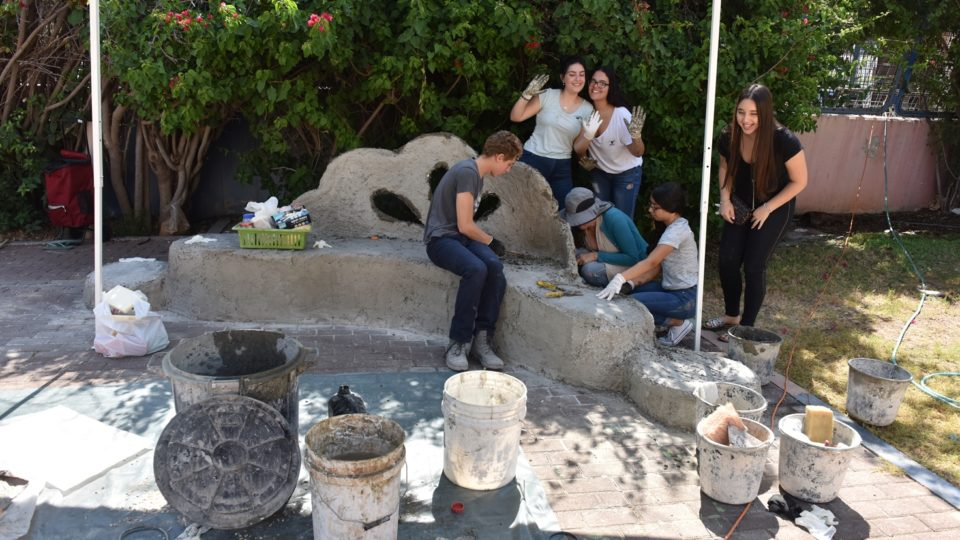 """חט""""ב רוגוזין לומדים את זכויותיהם וחובתם כאזרחים צעירים במדינת ישראל."""