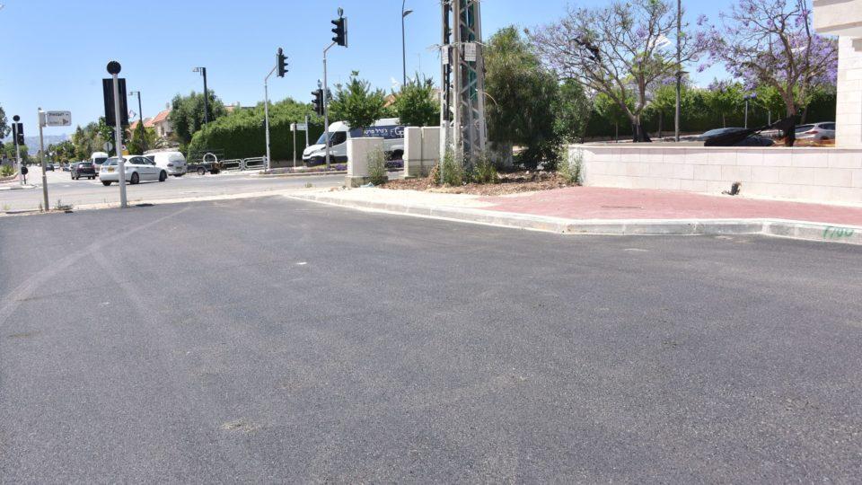 בקריית אתא ממשיכים לפתח את העיר-עבודות תשתית ברחוב כנרת