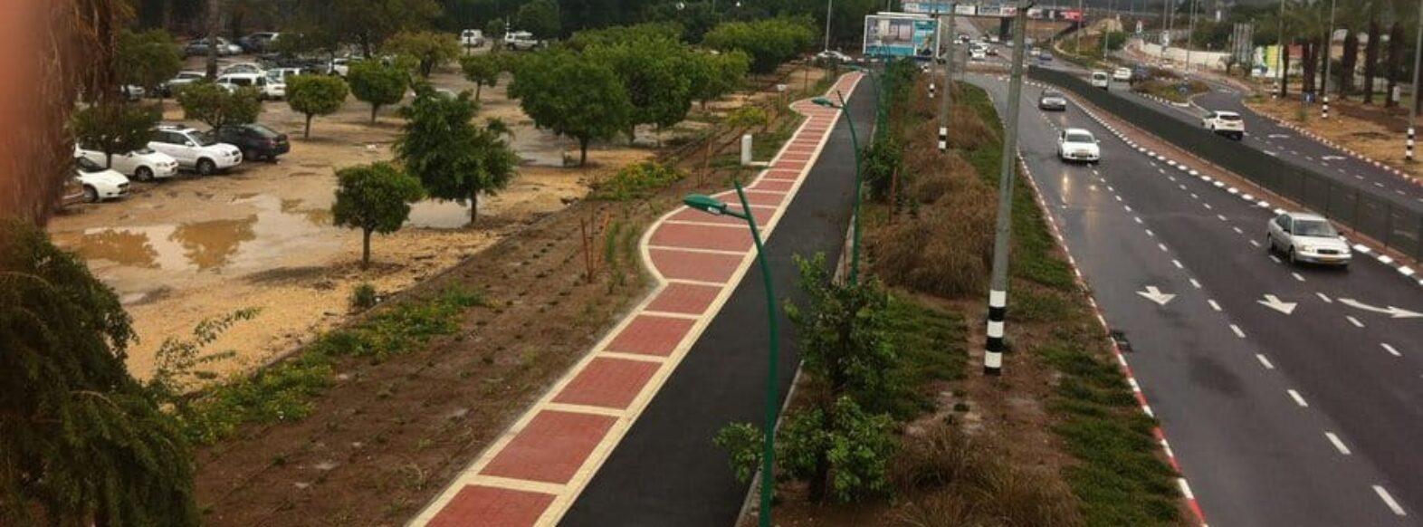 מתקן חדש וייחודי יוקם לרוכבי האופניים בסמוך לפארק אסתר בשכונת אפק בקריית ביאליק.