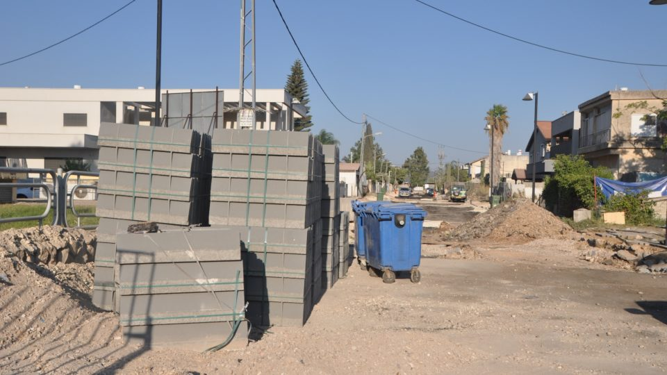 עיריית קרית אתא מבצעת עבודות תשתית ברחובות יהודה הנשיא ויחיא צאלח