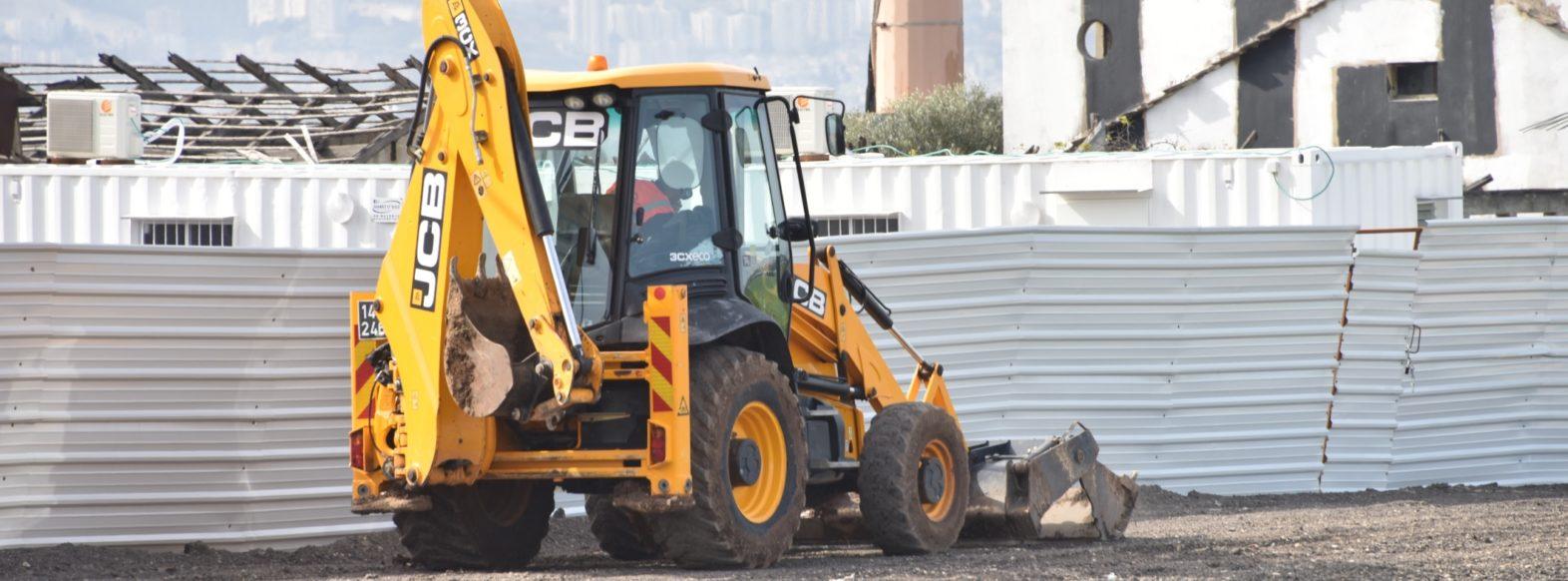 עבודות תשתית להרחבת הכביש המחבר בין צומת גלעם לדרך בגין