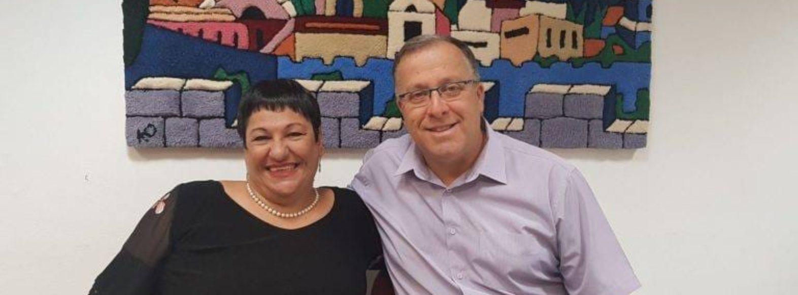 """משנה לראש העיר ד""""ר רוויטל סבירסקי נבחרה לשמש כחברה בוועדת המחקר של קרן שלם"""