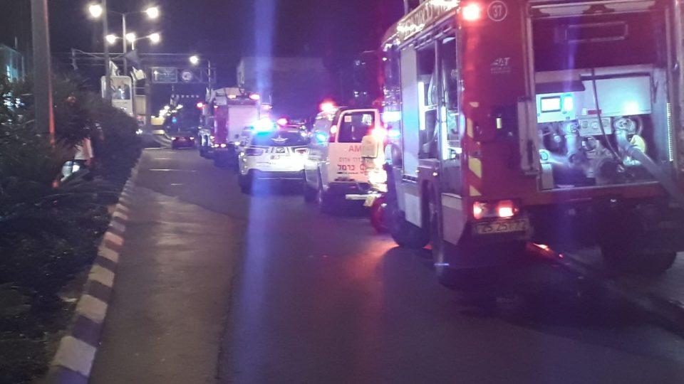 """שריפה בהוסטל באח""""י אילת,9 נפגעים משאיפת עשן"""