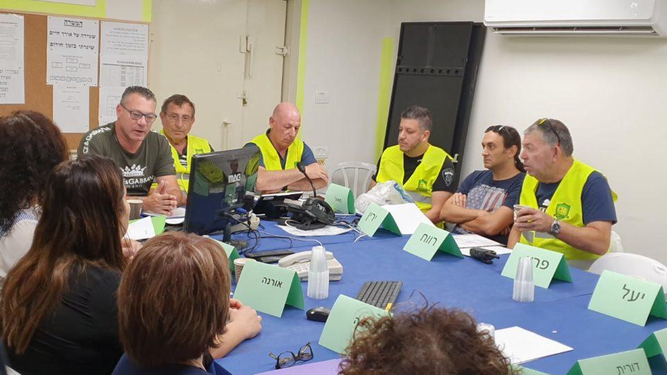 עיריית קריית ביאליק תרגלה את מוכנותה לחירום בתחום הלוגיסטיקה