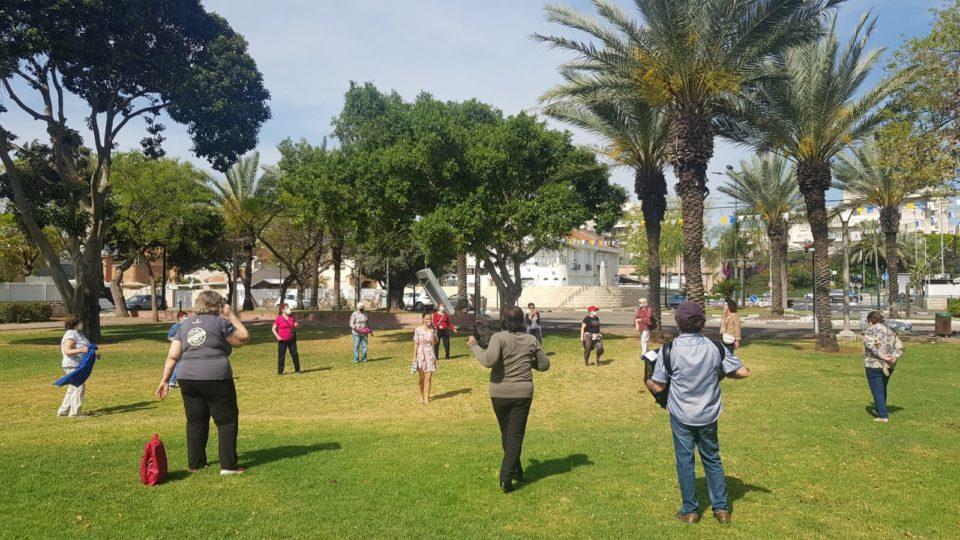 פעילות חינמית לגיל הזהב בקריית ביאליק בחסות העירייה