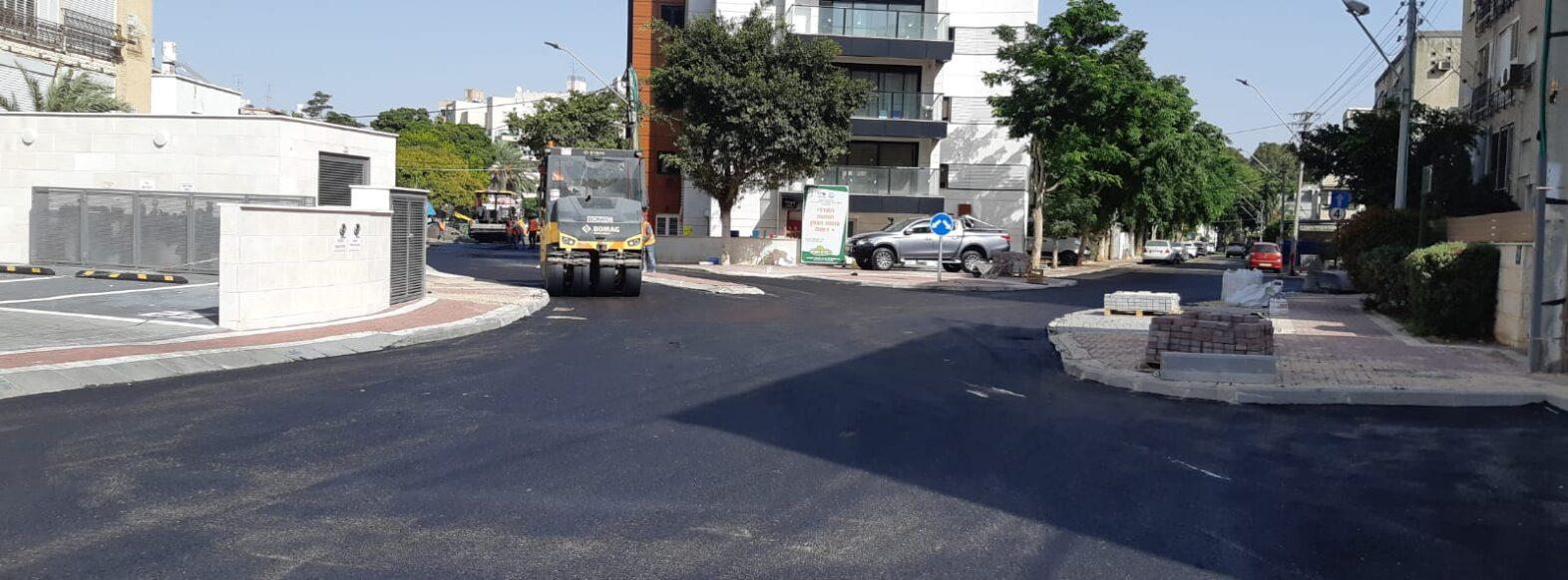 סוף לתאונות בצומת הרחובות הגפן ודפנה בקריית ביאליק