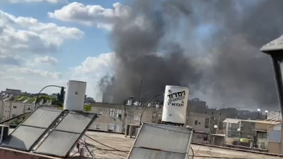 שריפה בגן ילדים פרטי בקריית מוצקין.נזק כבד למקום